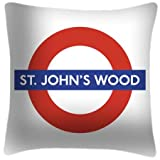 St Johns Wood - Roundel Art Cushion