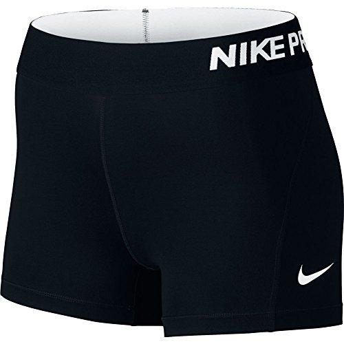 nike-womens-pro-3-cool-compression-training-short-black-white-x-small