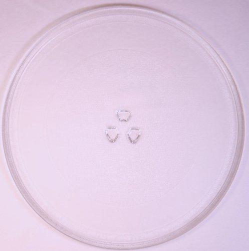 Mikrowellenteller / Drehteller / Glasteller für Mikrowelle # ersetzt Philips Mikrowellenteller # Durchmesser Ø 32,4 cm / 324 mm # Ersatzteller # Ersatzteil für die Mikrowelle # Ersatz-Drehteller # OHNE Drehring # OHNE Drehkreuz # OHNE Mitnehmer