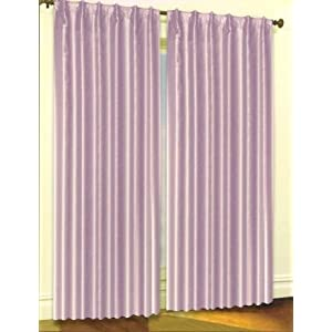 84 Quot Length Solid Blackout Thermal Insulated Lined Curtain
