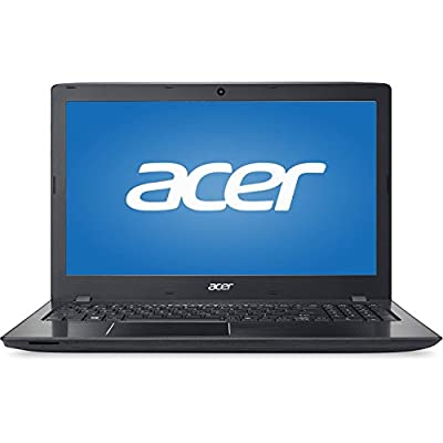 "2016 Newest Acer E 15 High Performance Premium 15.6"" HD Display Laptop ( Intel Core i7-6500U 2.5 GHz, 8GB RAM, 1TB HDD, DVD, HDMI, WiFi, Bluetooth, Webcam, Windows 10 ) - Black"