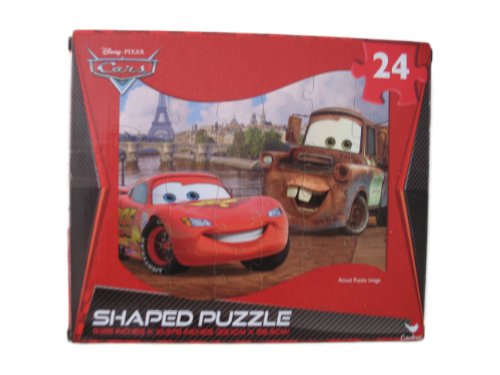Cars - Shaped Puzzle - 1