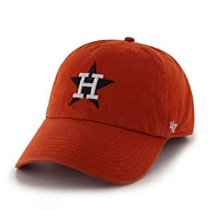 MLB Houston Astros Mens Cooperstown Franchise Cap, Orange by