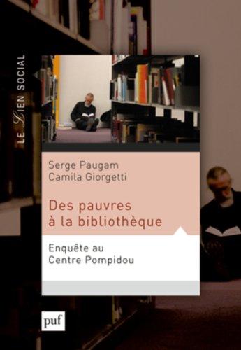 Des pauvres à la bibliothèque : Enquête au Centre Pompidou