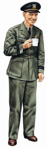 "Military Uniforms Of Wwii Wall Decals - Landing Signals Officer 12"" Removable Wall Graphic"