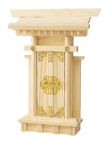 Miniature Kamidana Golden Ornament Ver. Japanese Shinto Shrine God Shelf 023