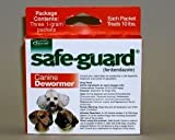 Schering/Intervet 001-004107 Orange Safeguard Dog Wormer 1 Gram