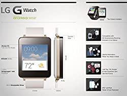 LG Electronics G Watch - White by LG Electronics