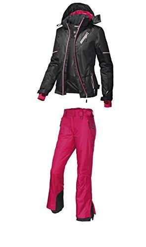2-pices-Combinaison-Ski-Femme-Veste-de-ski-pantalon-de-ski-Taille-au-choix