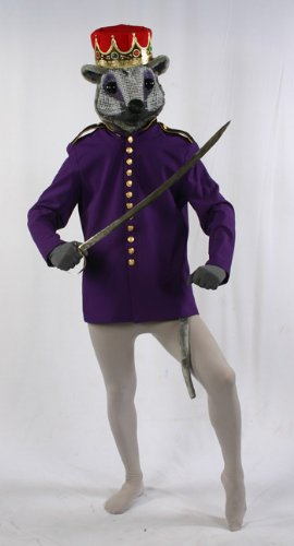 Costumes For All Occasions AD78PRLG Nutcracker Mouse King Coat Lar