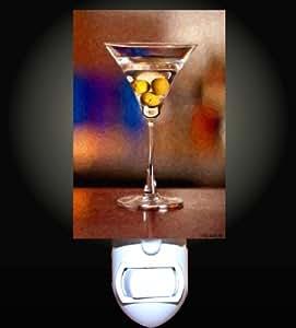 Olive Martini Decorative Night Light Home