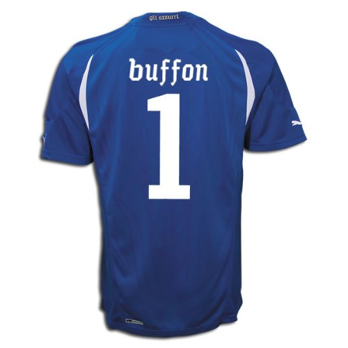 Puma Buffon #1 Italy Home Jersey World Cup 2010 (Xl)