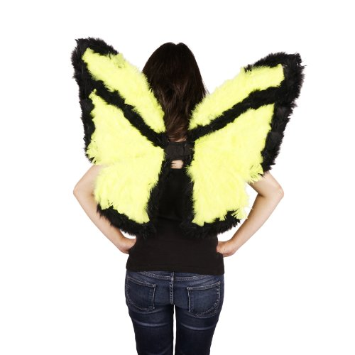 Zucker Feather Products Decorative Day-Glo Butterfly Wings