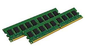 Kingston Technology 4GB Kit (2x2 GB) 400MHz DDR2 PC2-3200 240-Pin Dual Rank Chipkill DIMM Memory for Select IBM Servers KTM2865/4G