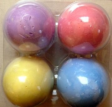 Egg-Shaped Sidewalk Chalk - 4 Count