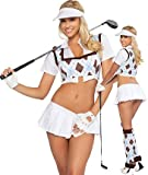 3WISHES Hole In One Costume Sexy Golf Costumes for Women