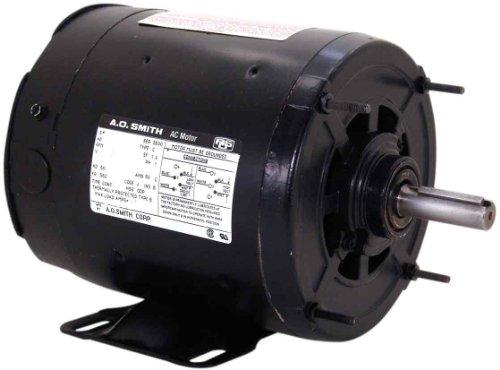 Century Os2050 Split Phase Rigid, 56Z Frame, 1/2-Hp, 1725-Rpm, 115-Volt, 8.1-Amp, Sleeve Bearing Motor