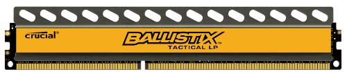 Crucial Ballistix Tactical Low Profile 8GB Single DDR3-1600 1.35V UDIMM 240-Pin Memory Module BLT8G3D1608ET3LX0 (Crucial Ddr3 Low Profile compare prices)