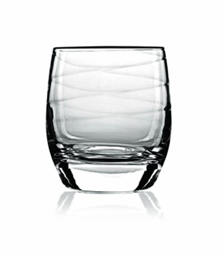 Luigi Bormioli Romantica 37.5 cl Whisky Glass (Giftbox of 4)