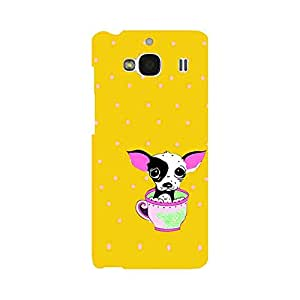Skintice Designer Back Cover with direct 3D sublimation printing for Xiaomi Redmi 2