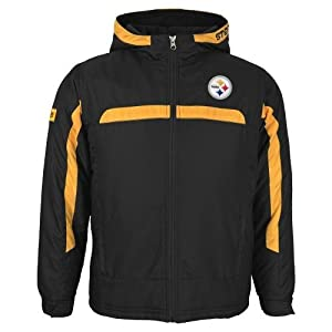 Pittsburgh Steelers Youth NFL Midweight Hooded Jacket