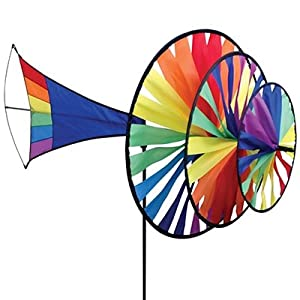 Large Triple Wind Spinner - Rainbow