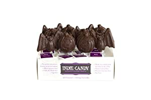 Indie Candy Batz Lollipop, Chocolate, 1.2-Ounce (Pack of 6)
