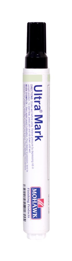 Mohawk Finishing Products Ultra Mark Wood Touch Up Marker for Paint or Stain (AWC White) (Color: AWC White)