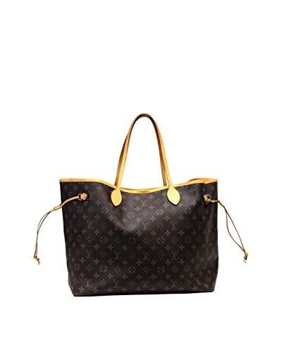 Louis Vuitton Neverfull in Monogram, Brown
