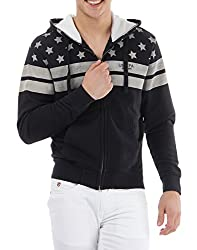 U.S.Polo.Assn. Men's Cotton Sweatshirt (8907259139227_USSS0504_XXL_Black)