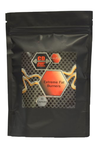 Extreme FAT BURNERS - 60 Caps High Strength Bodybuilding Supplement. Extreme Fat Loss, Promotes Dramatic Loss of Fat! Month Supply. Excellent Results!