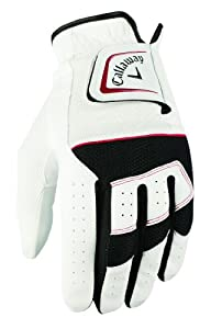 Callaway Women's Womens X Hot All Weather Glove Left Hand Large - White, 29 cm