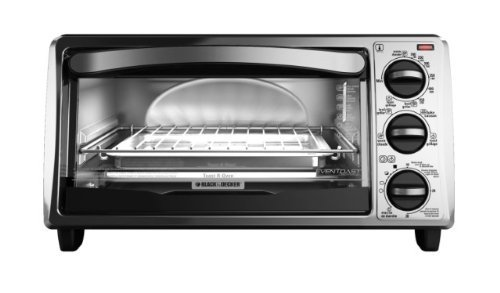 Black & Decker TO1313SBD 4-Slice Toaster Oven, Silver/Black (Toast R Oven compare prices)