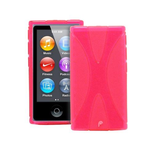 Fosmon DURA X Series (TPU) Semi Flex Skin Case for Apple iPod Nano 7th Generation - Hot Pink (Fosmon Retail Packaging)
