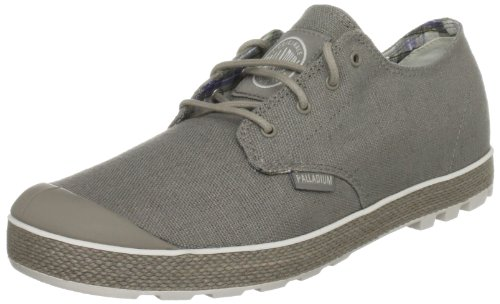 Palladium Men's Slim Oxford Moon Rock/off White Fashion Trainer 02834-056-M 8 UK