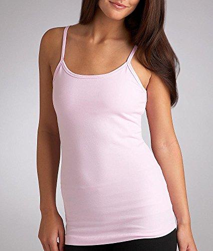 Hard Tail Shelf Bra Camisole, XS, White