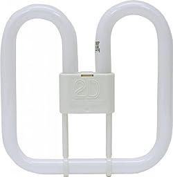 (5 Pack) GE Lighting 36358 Energy Smart 2D CFL 55-watt 4000-Lumen 2D Light Bulb with GRY10q-3 Base