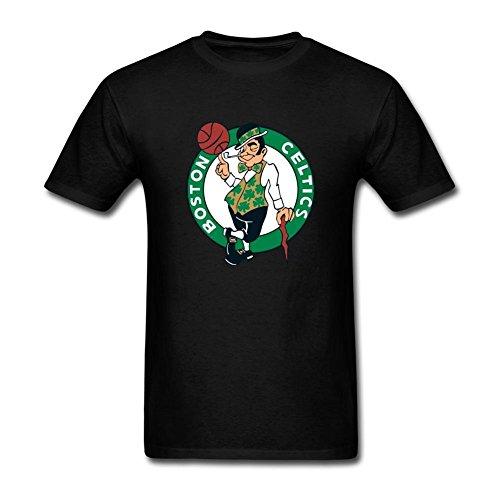 ukc5bd da uomo Boston Celtics T Shirt Black Large