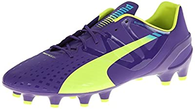 PUMA Men's evoSPEED 1.3 Firm Ground Soccer Cleats