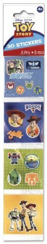 Disney's Toy Story Sticker Squares 8ct (30 Stickers Total) [Toy] [Toy] - 1