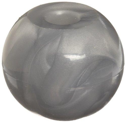 Molecular Models Silver Plastic Metal Monovalent Atom Center, 17mm Diameter (Pack of 10)