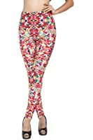 Sunnydate Galaxy Colorful Calico Painted Pantyhose leggings