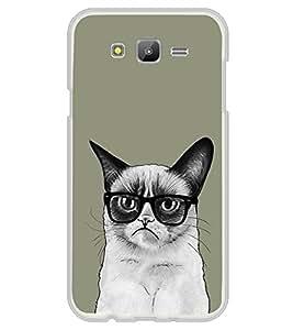 Grumpy Cat 2D Hard Polycarbonate Designer Back Case Cover for Samsung Galaxy E7 (2015) :: Samsung Galaxy E7 Duos :: Samsung Galaxy E7 E7000 E7009 E700F E700F/DS E700H E700H/DD E700H/DS E700M E700M/DS