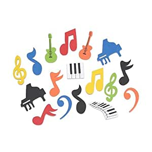 Shindigz Music Foam Sticker Shapes