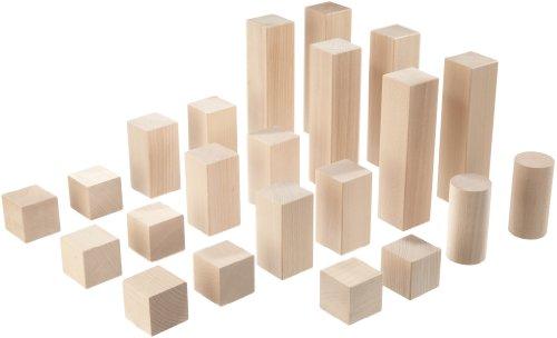 Haba - Bloques de construcción de madera para circuitos de canicas