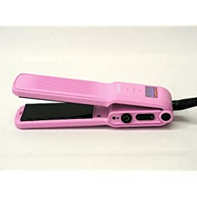 Hot Tools Professional Ceramic Tourmaline Stowaway Mini Flat Iron 1 1/4