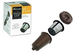 Keurig My K-Cup Reusable color Brown Coffee Filter for B30 B31 B40 B50 B60 B70 K10 K45 K65 K75
