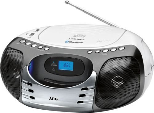 SR 4356 Stereo-Radio (Bluetooth, UKW/MW-Tuner, AUX-In, USB)