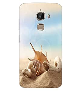 ColourCraft Shell Design Back Case Cover for LeEco Le 2