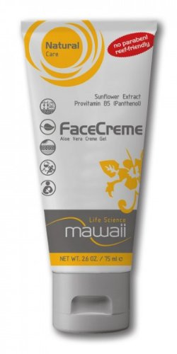 mawaii - FaceCreme Gel - Aloe Vera Gesichtscreme, After Sun, Sonnenpflege, 75ml (100 ml / 18,53 EUR)
